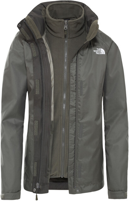 The North Face Evolve II Triclimate Jacke Damen new taupe green